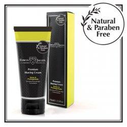 Edwin Jagger Premium Shaving Cream Limes & Pomegranate Tube 75 ml