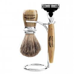 Benjamin Barber Duke MP 3-delars Rakset Horn (Set without razor)