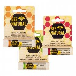 Bee Natural Lip Balm (Pomegranate)