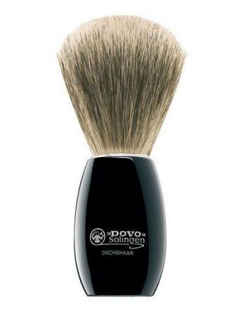 Dovo Rakborste - Svart handtag (Pure Badger)