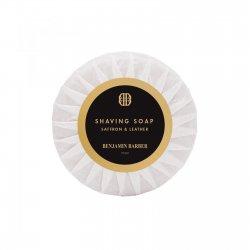 Benjamin Barber Saffron & Leather Shaving Soap (50 g)