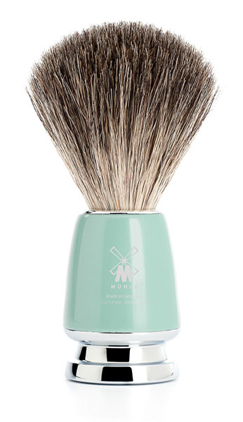 RYTMO Pure Badger Shaving Brush Resin Mint