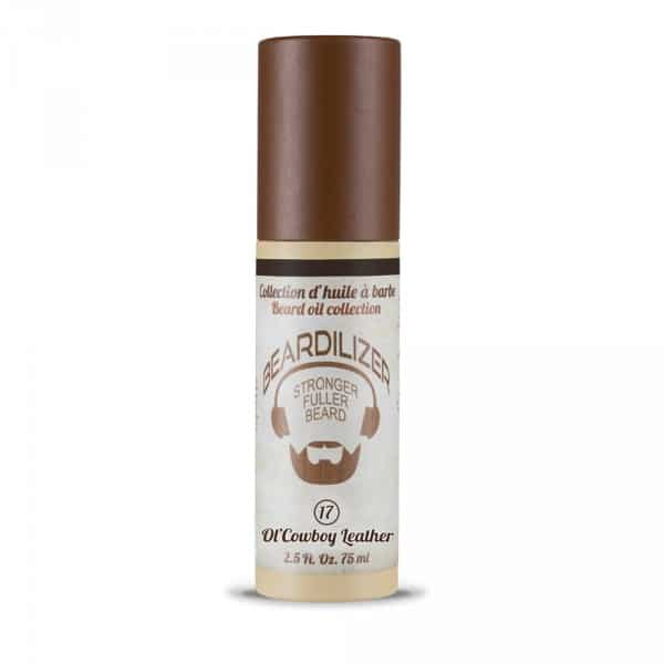 Beardilizer Beard Oil Ol' Cowboy Leather
