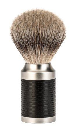 ROCCA Black Silvertip Badger Shaving Brush