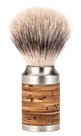 ROCCA Birch Bark Silvertip Fibre Shaving Brush