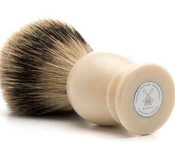 Rakborste Silvertip Badger CLASSIC Resin Ivory - L