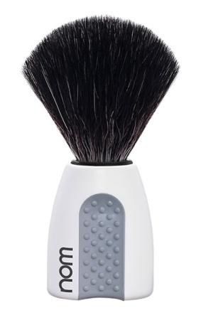 ERIK Shaving Brush Black Fibre - White