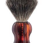GUSTAV Shaving Brush Pure Badger - Havanna