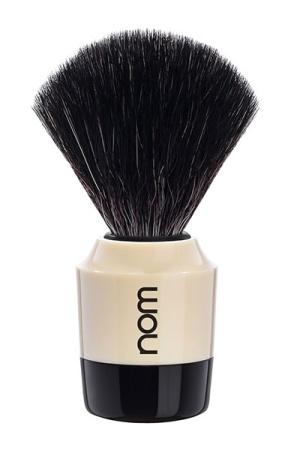 MARTEN Shaving Brush Black Fibre - Black Creme