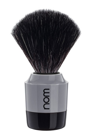 MARTEN Shaving Brush Black Fibre - Black Grey
