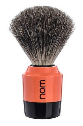 MARTEN Shaving Brush Pure Badger - Black Coral