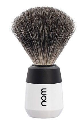 MAX Shaving Brush Pure Badger - White