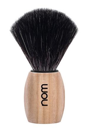 OLE Shaving Brush Black Fibre - Pure Ash