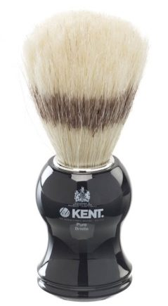 Black Socket Pure Bristle Shaving Brush