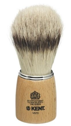 Wooden Socket Pure Bristle Shaving Brush